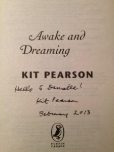 kit pearson autograph